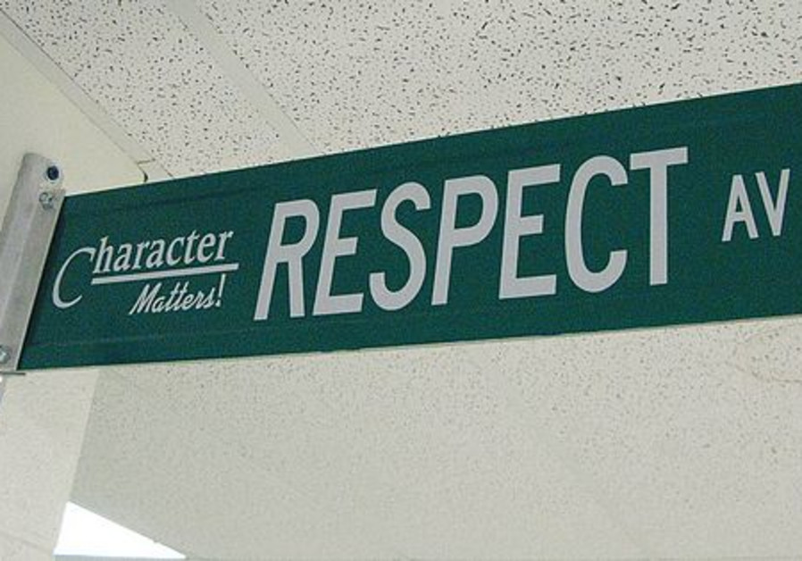 Respect for others is a basic human belief.