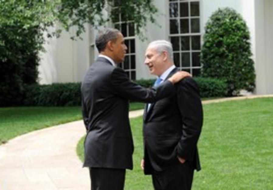 PM Netanyahu, US President Obama at White House