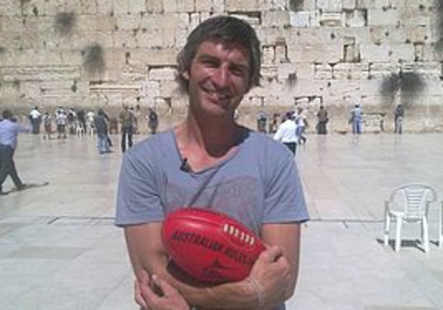 Former Australia Rules football champion Brett Kir