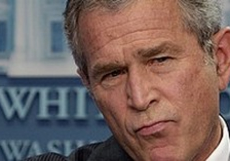 Bush: Hamas attacks are acts of terror
