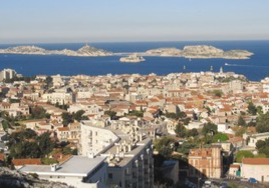 View of Marseilles from Notre Dame de la Gard