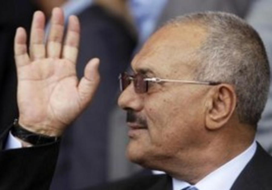 Yemen's President Ali Abdullah Saleh