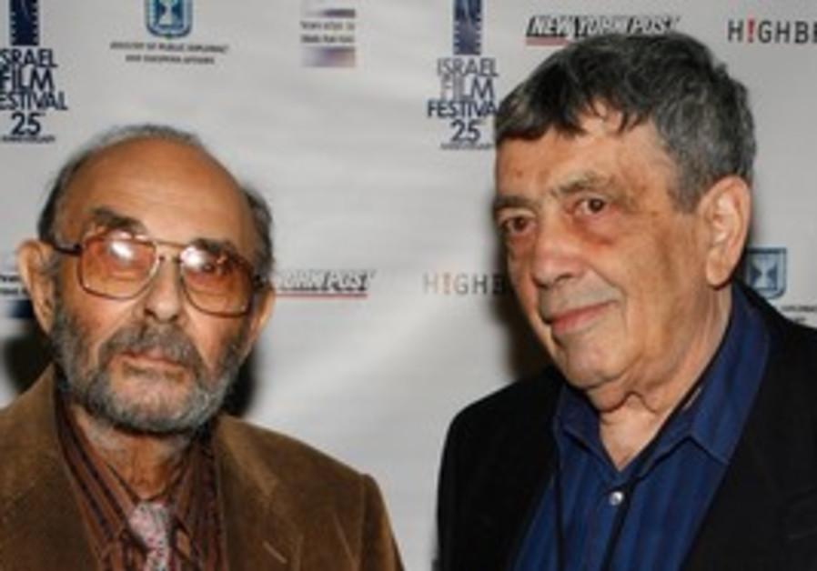 Stanley Donen (left) and Micha Shagrir