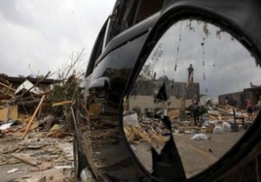 Tornado damage in Joplin, Missouri