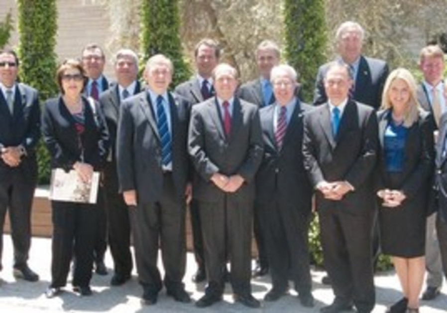 Delegation of attorney-generals from the US.