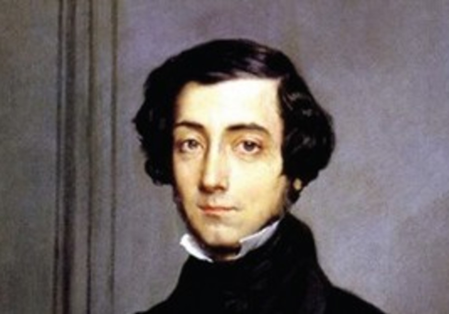 Alexis de Tocqueville as depicted by Chassriau