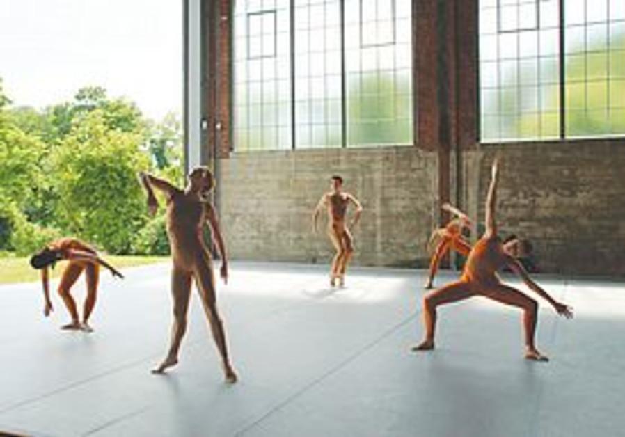 Cunningham dancers