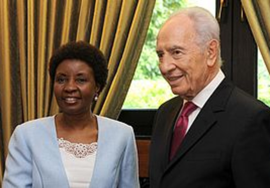 Peres and Migiro