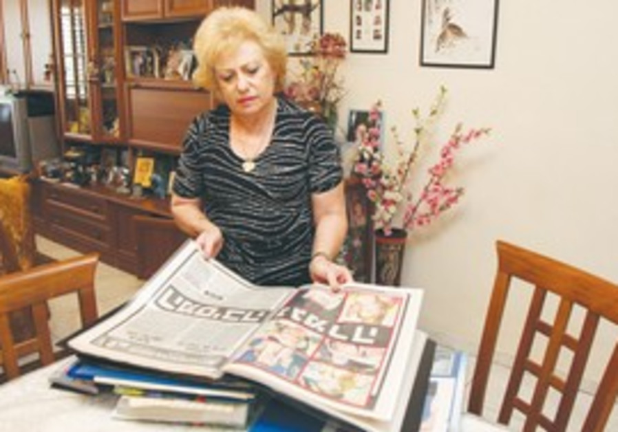 LILYA ZHUKOVSKY lost daughter in terror attack