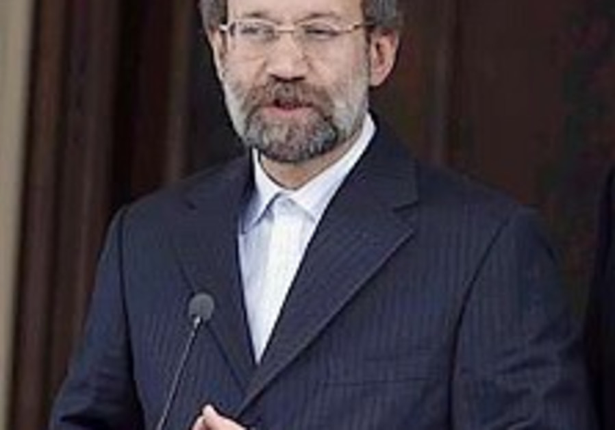 Iranian parliament speaker slams Obama