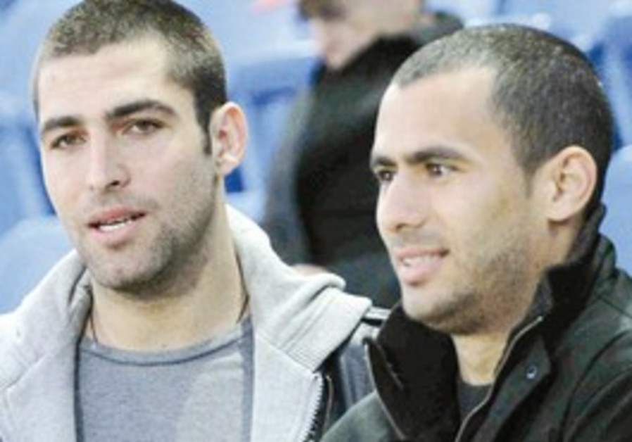 From left: Itay Schechter and Gili Vermut