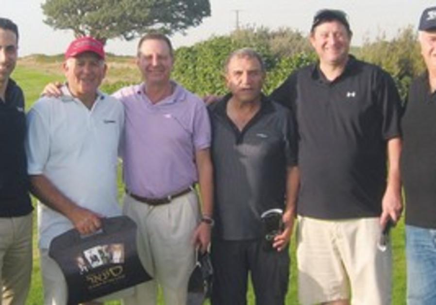 Cigar Magaizne CEO Oren Kfir on left