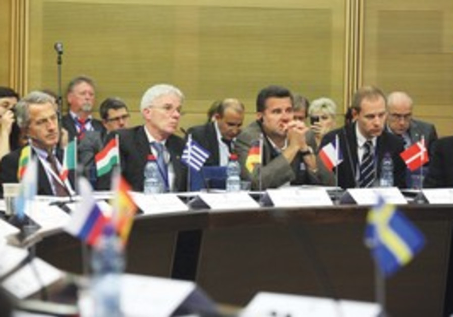 European scientists meet at the Knesset