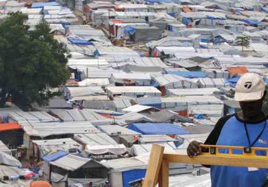1.6 million Haitians live in make-shift camps