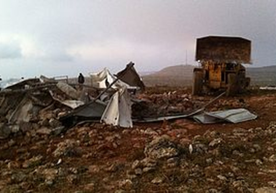 Dismantled outpost Alei Ayin