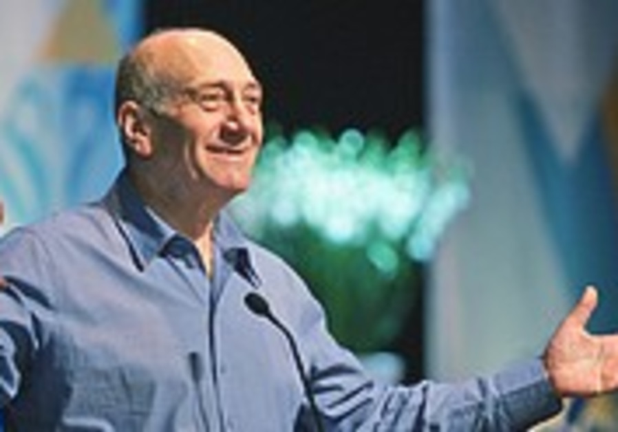 Olmert's courageous disclosure