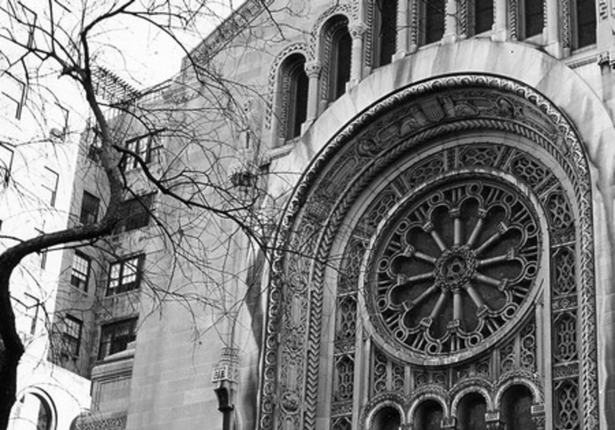 Temple Emmanu-El on 5th Ave. in New York.