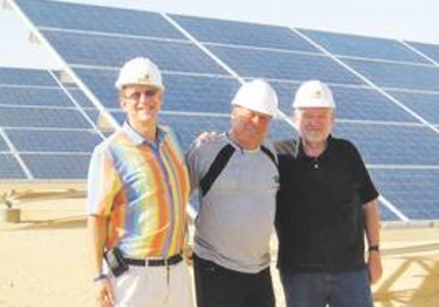Ketura Sun co-founders Abramowitz, Hofland