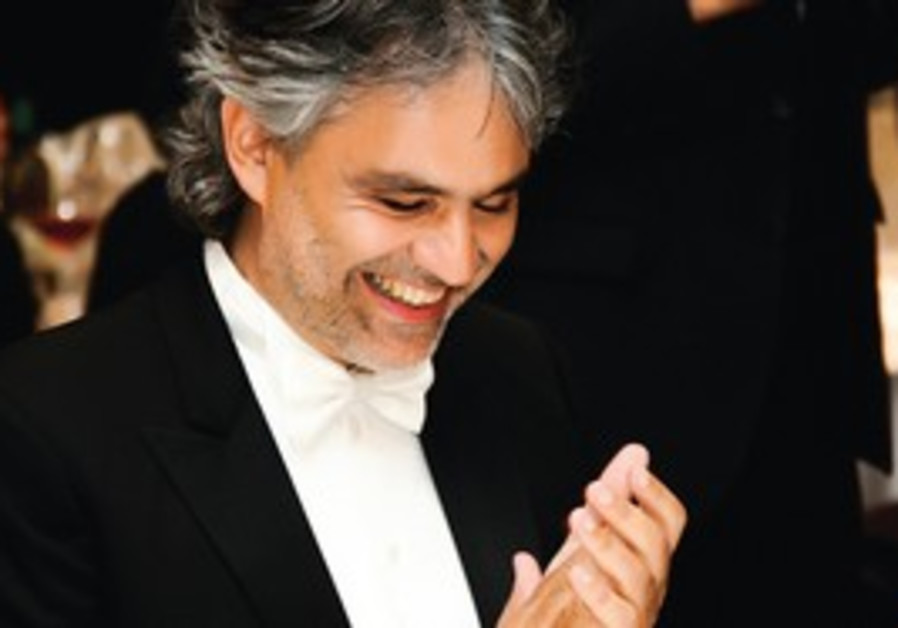 Composer Adrea Bocelli