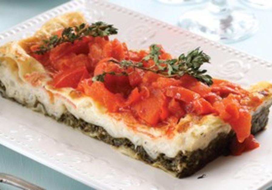 Spinich lasagne