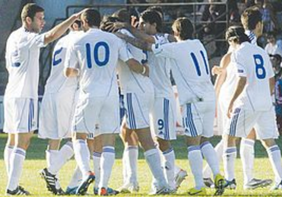Israel National Team in Soccer