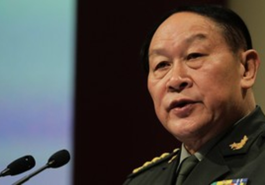 Chinese Defense Minister Liang Guanglie, Singapore