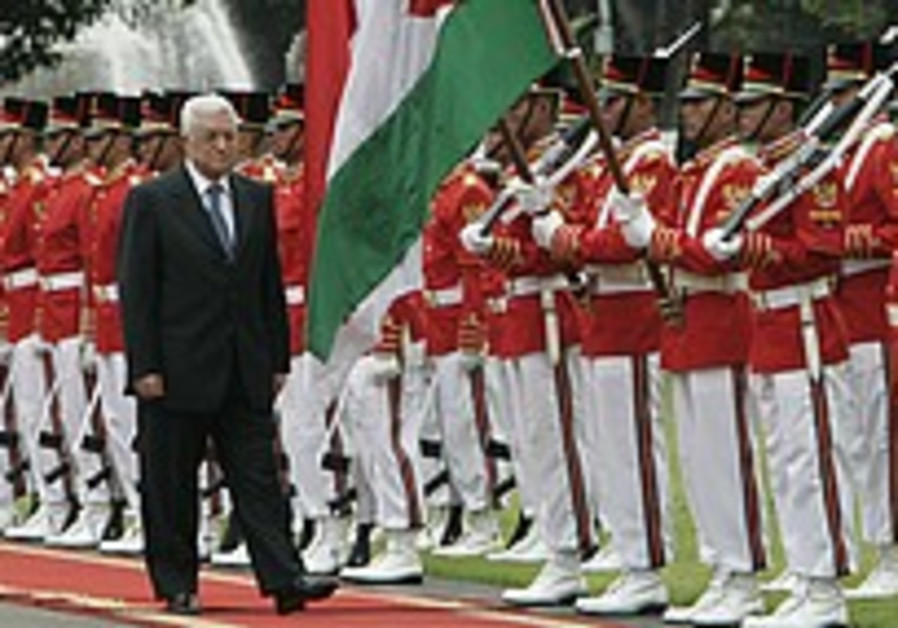 Abbas confident solution will be found by 2009