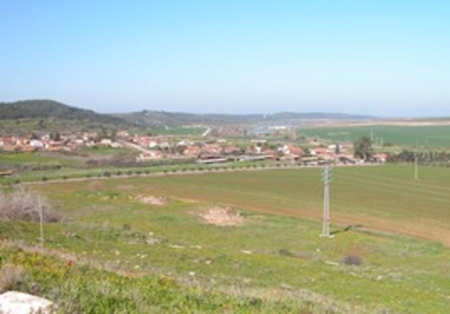 View west of Sorek Valley
