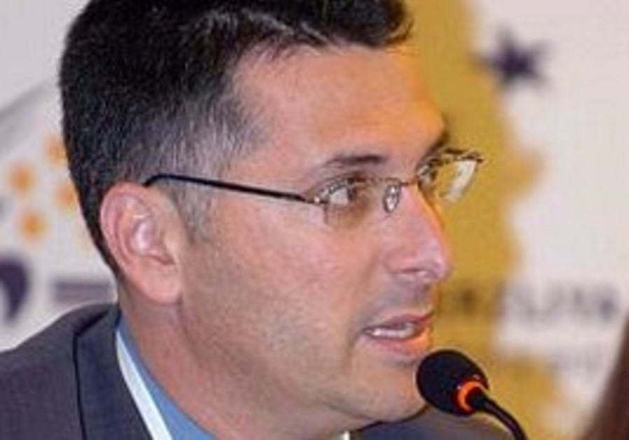 Education Minister Gideon Sa'ar.