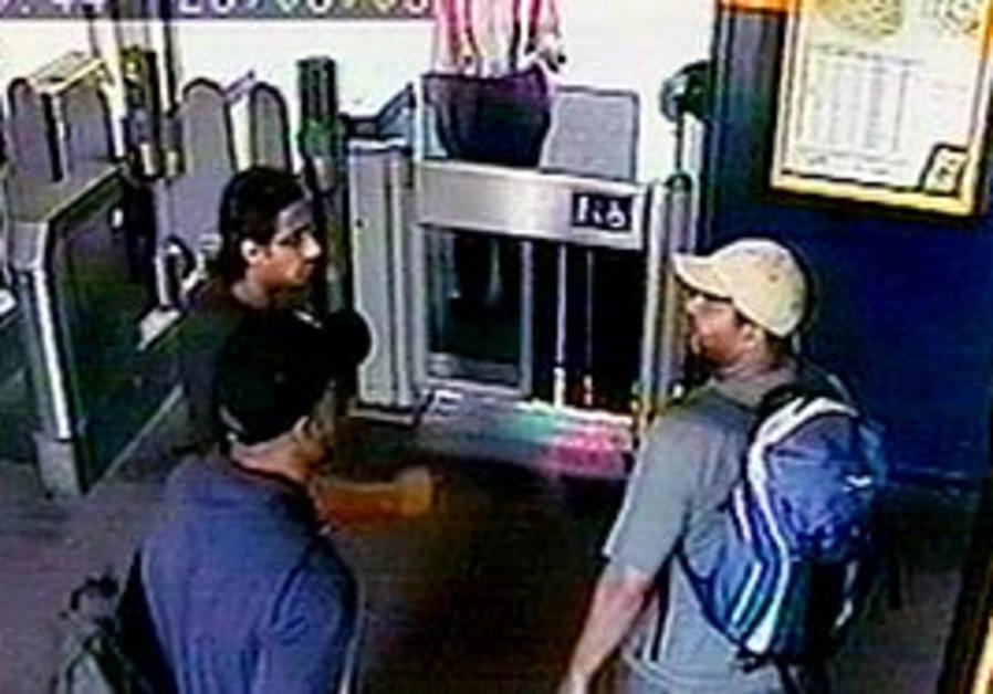 CCTV footage of 7/7 London bombers