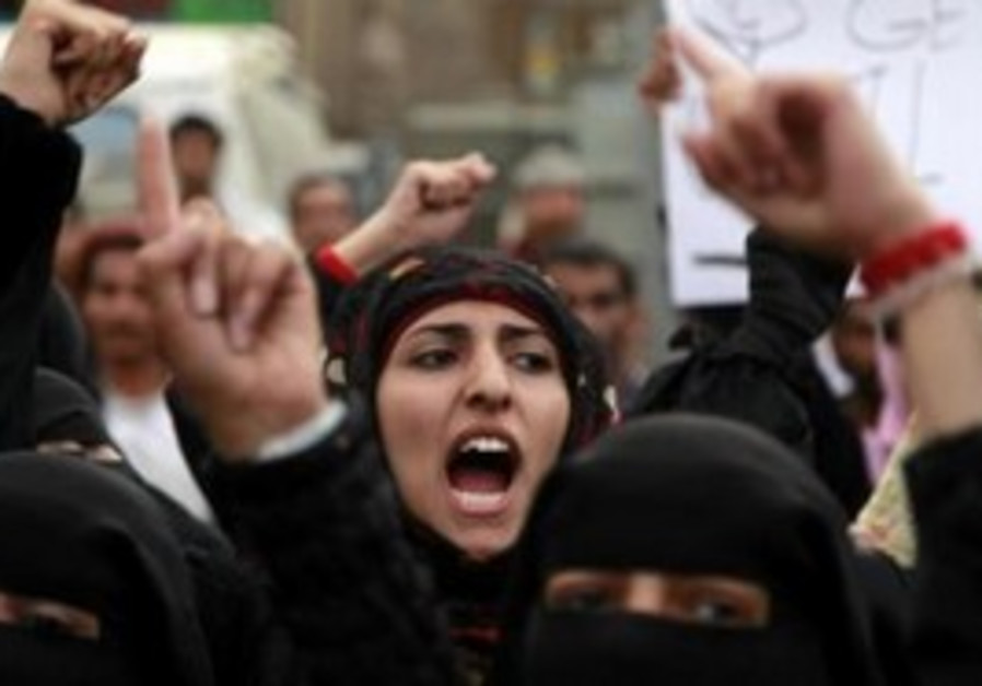 Protesters call for Saleh's ouster in Sanaa
