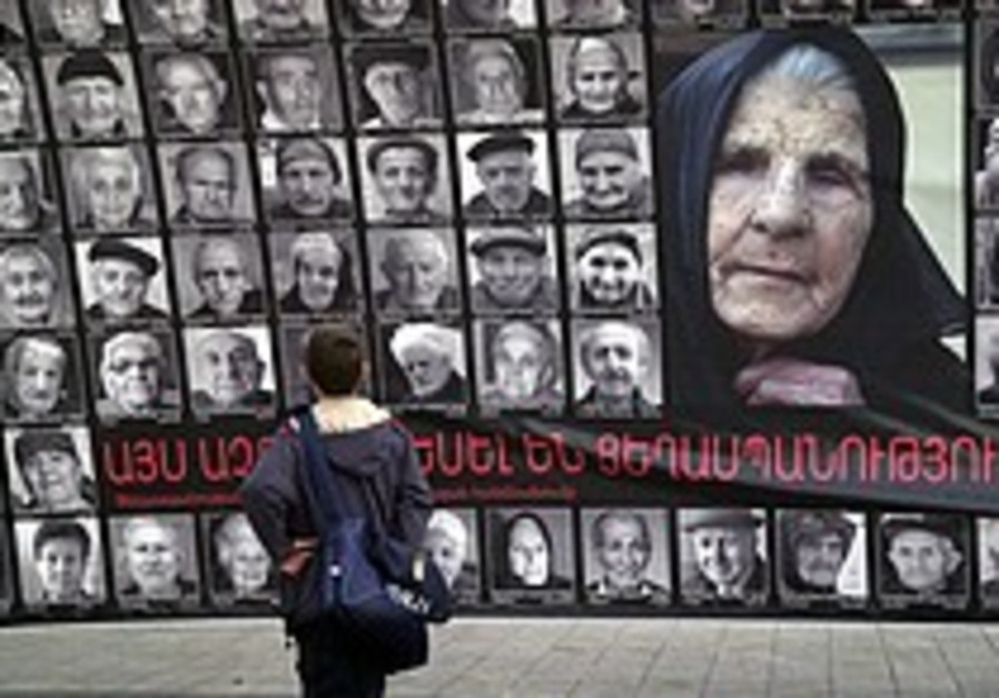 US Jews may be ready to step into Armenian genocide debate