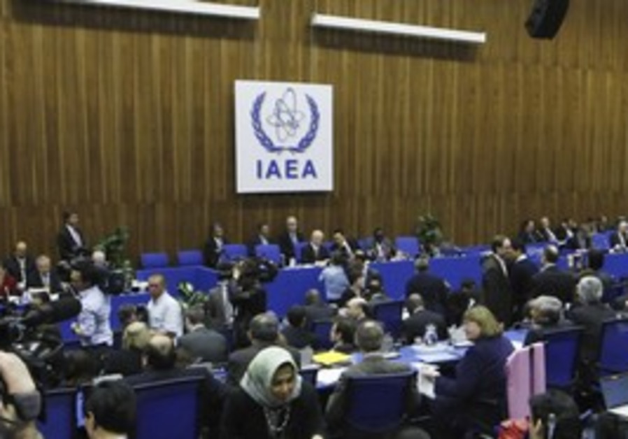 IAEA board of governors meeting in Vienna, March.