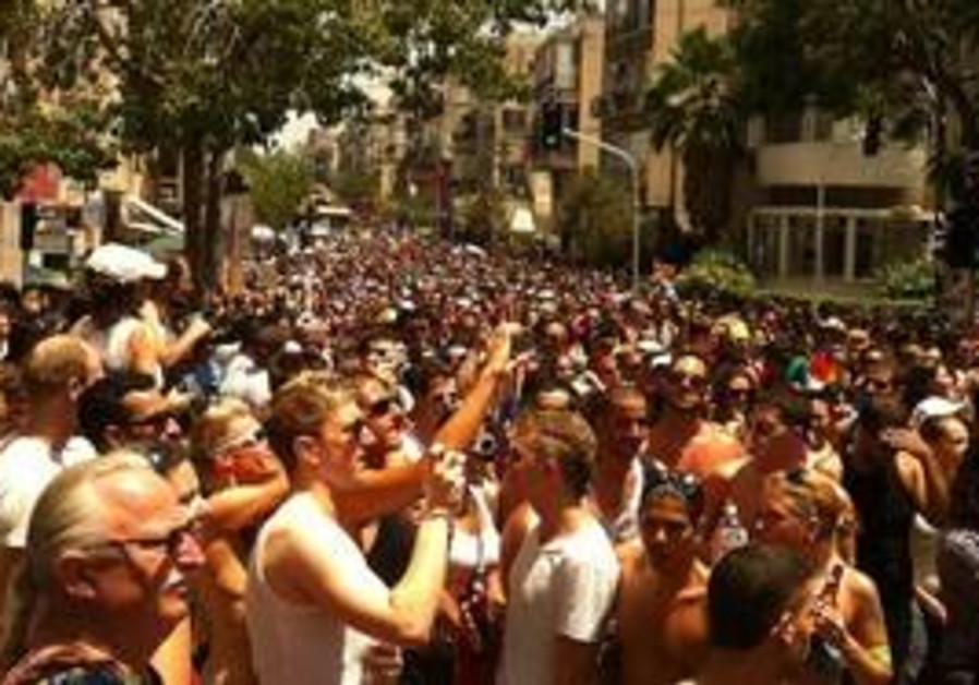 Tel Aviv Gay Pride Parade 2011