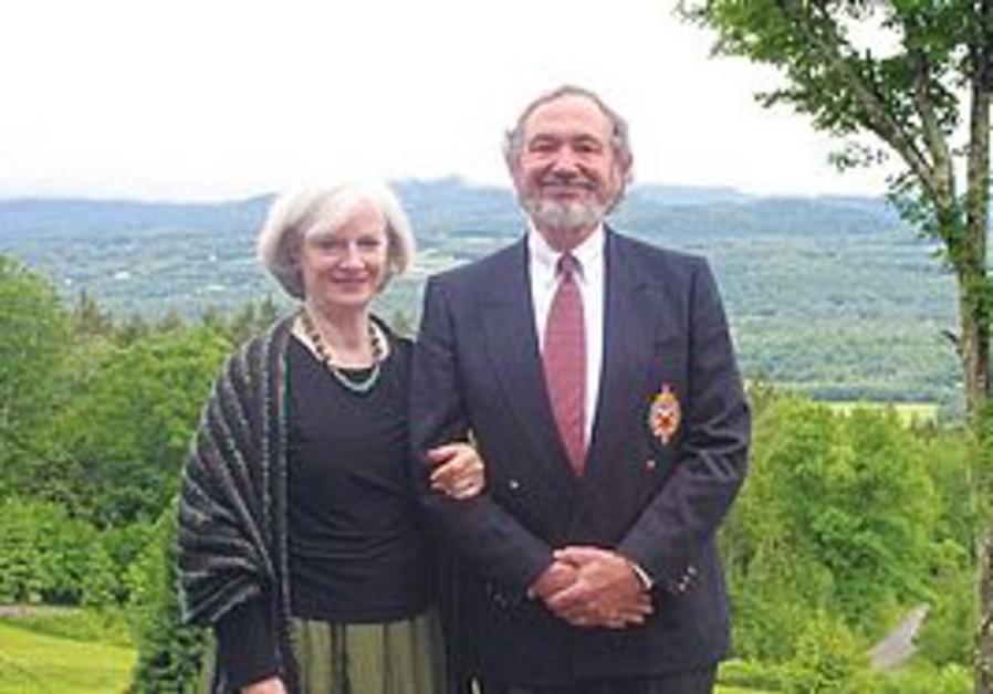 Zipora and Geoffrey Rogg