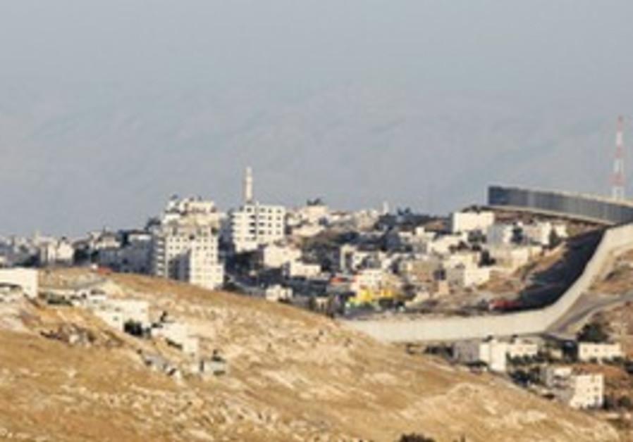 The Abu Dis landfill
