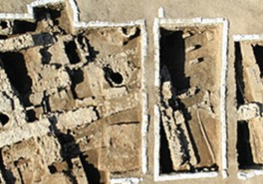 A 1,500-year-old building of the Byzantine period