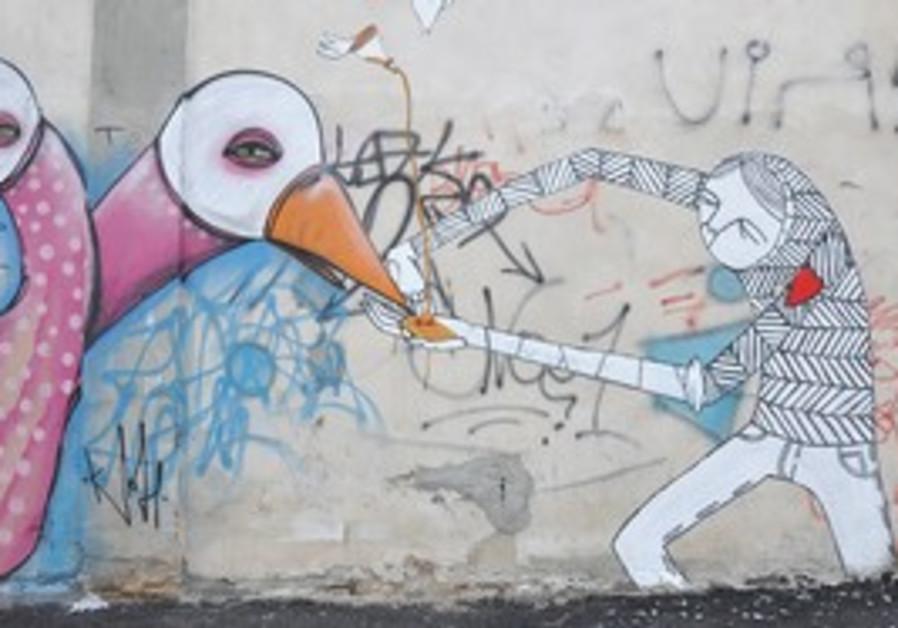 Graffiti art in Tel Aviv