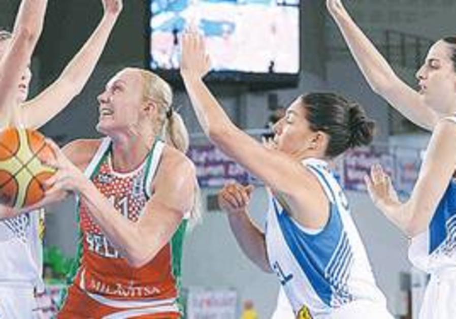 Israeli womens basketball