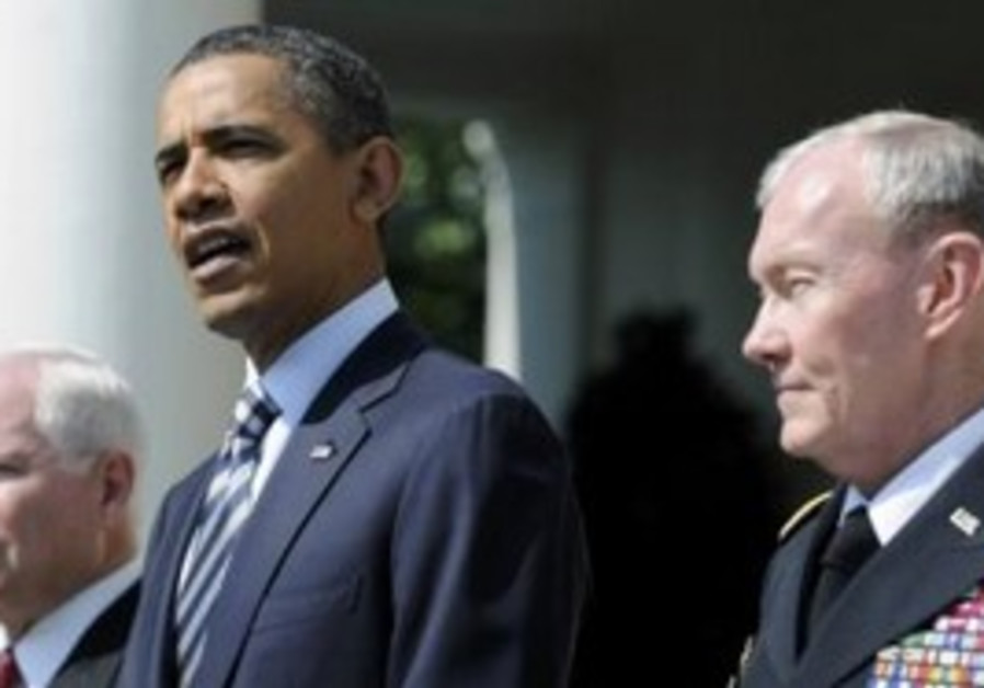US President Obama and Robert Gates