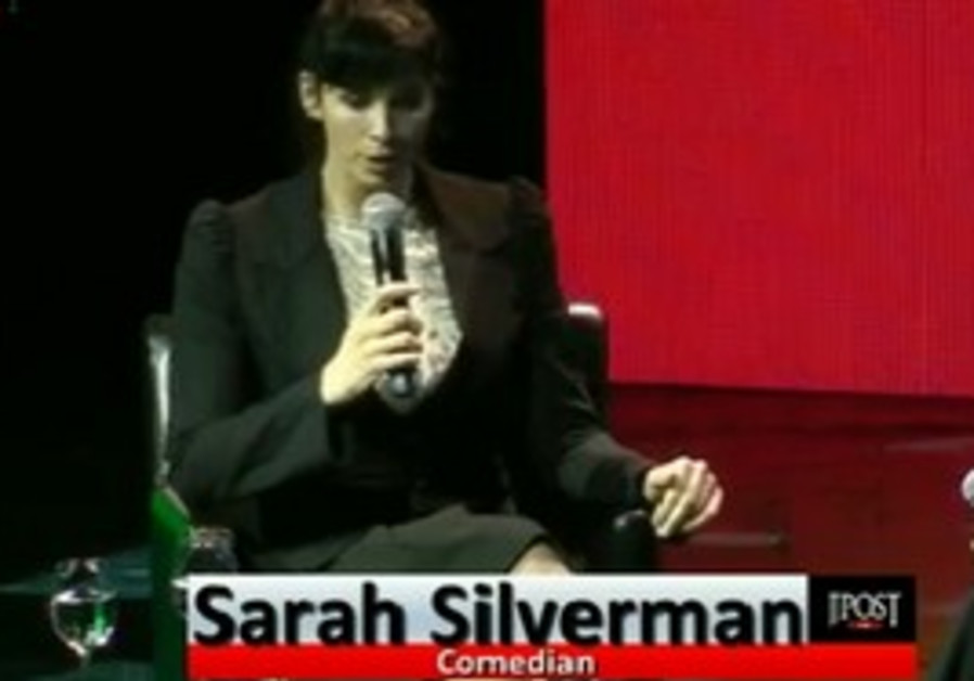 Sarah Silverman at Israeli President's Conference