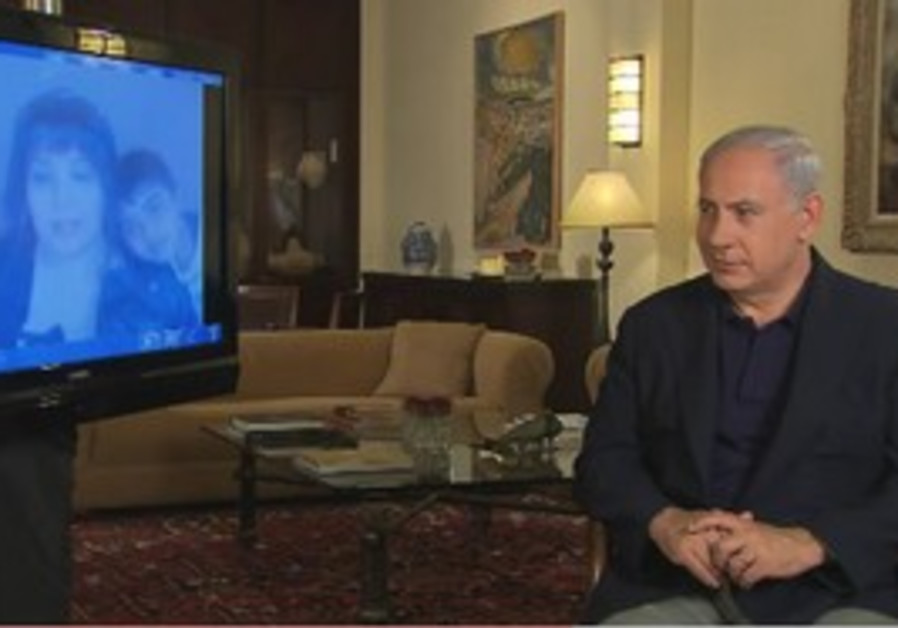 Netanyahu answers viewers' questions on Youtube.