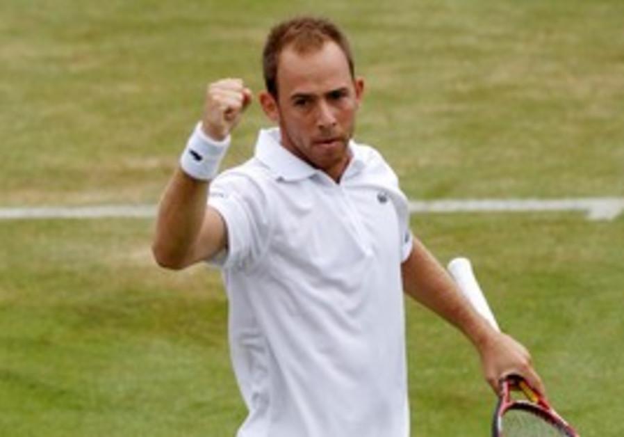 Dudi Sela at Wimbledon