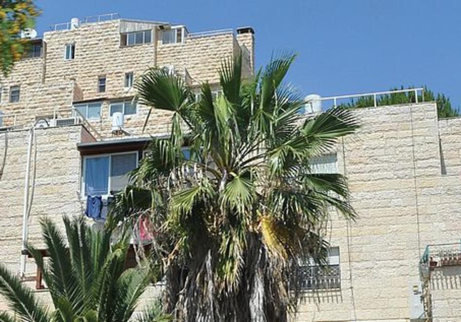 A building in Armon HaNatziv.