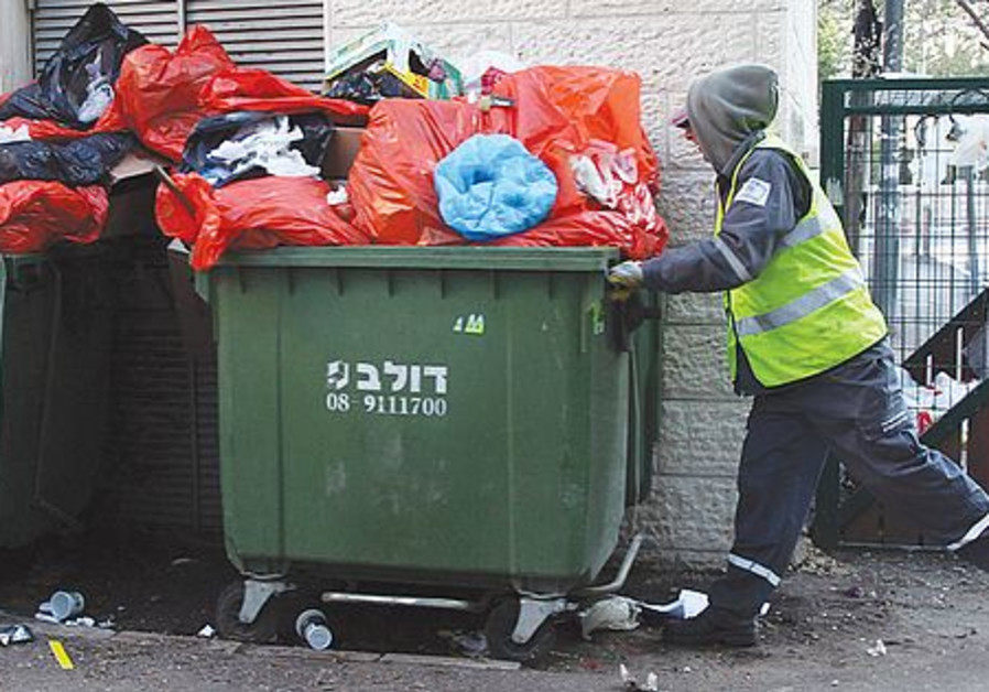 Garbage collection is under control for the year.
