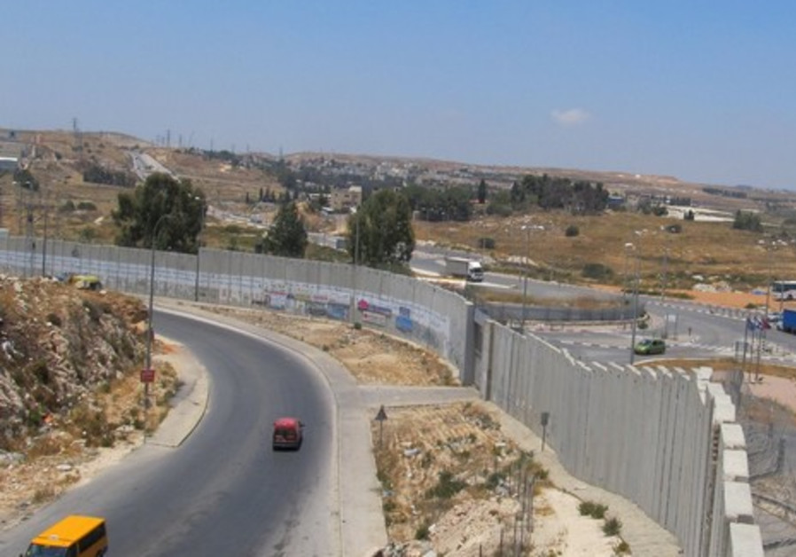 MKs tour the security fence