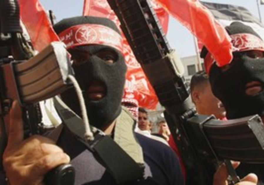 PFLP terrorists in Nablus [file photo]