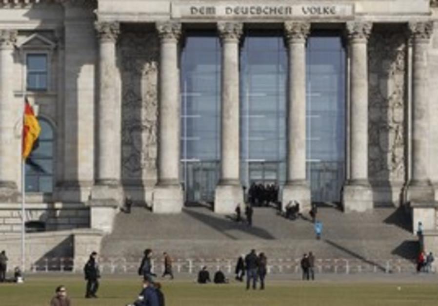 German Rechstag Parliament