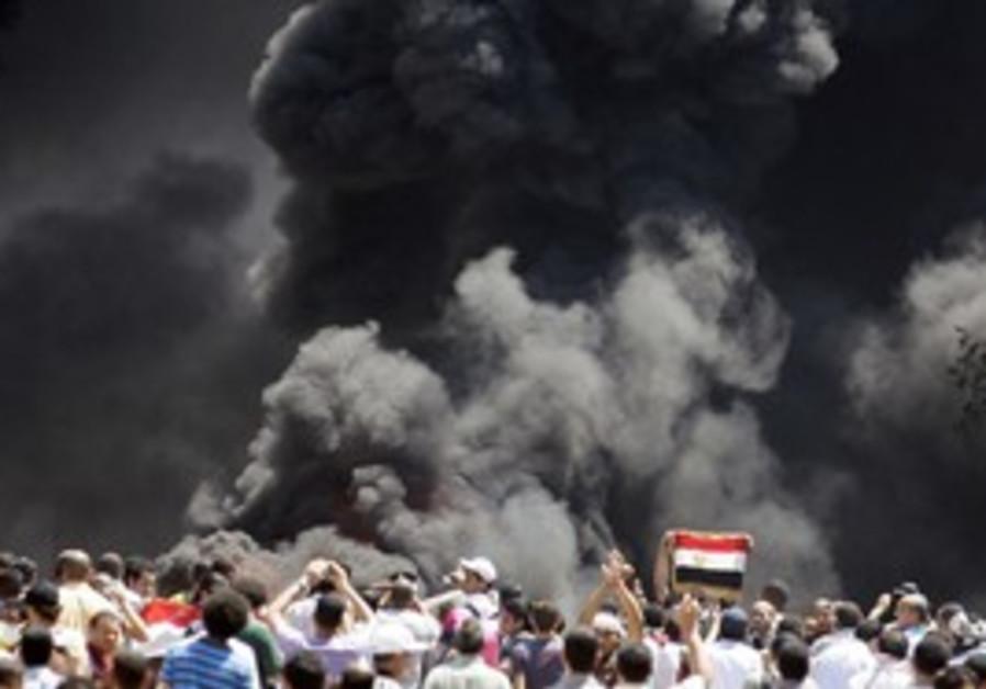 Cairo anti-police protest