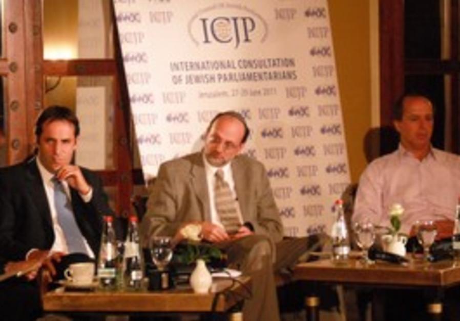 Jerusalem Post's Herb Keinon and Khaled Abu Toameh